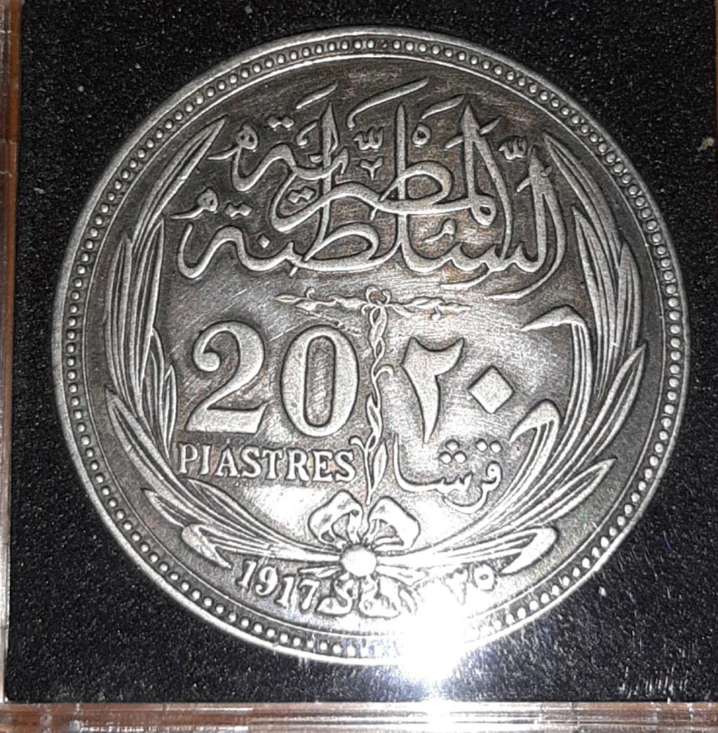 Pongamos una más de África - Egipto...20 piastres 1917.  20190840