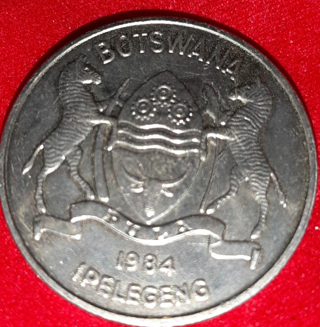 Africa- Botswana- 50 Thebe 1984. 20190842