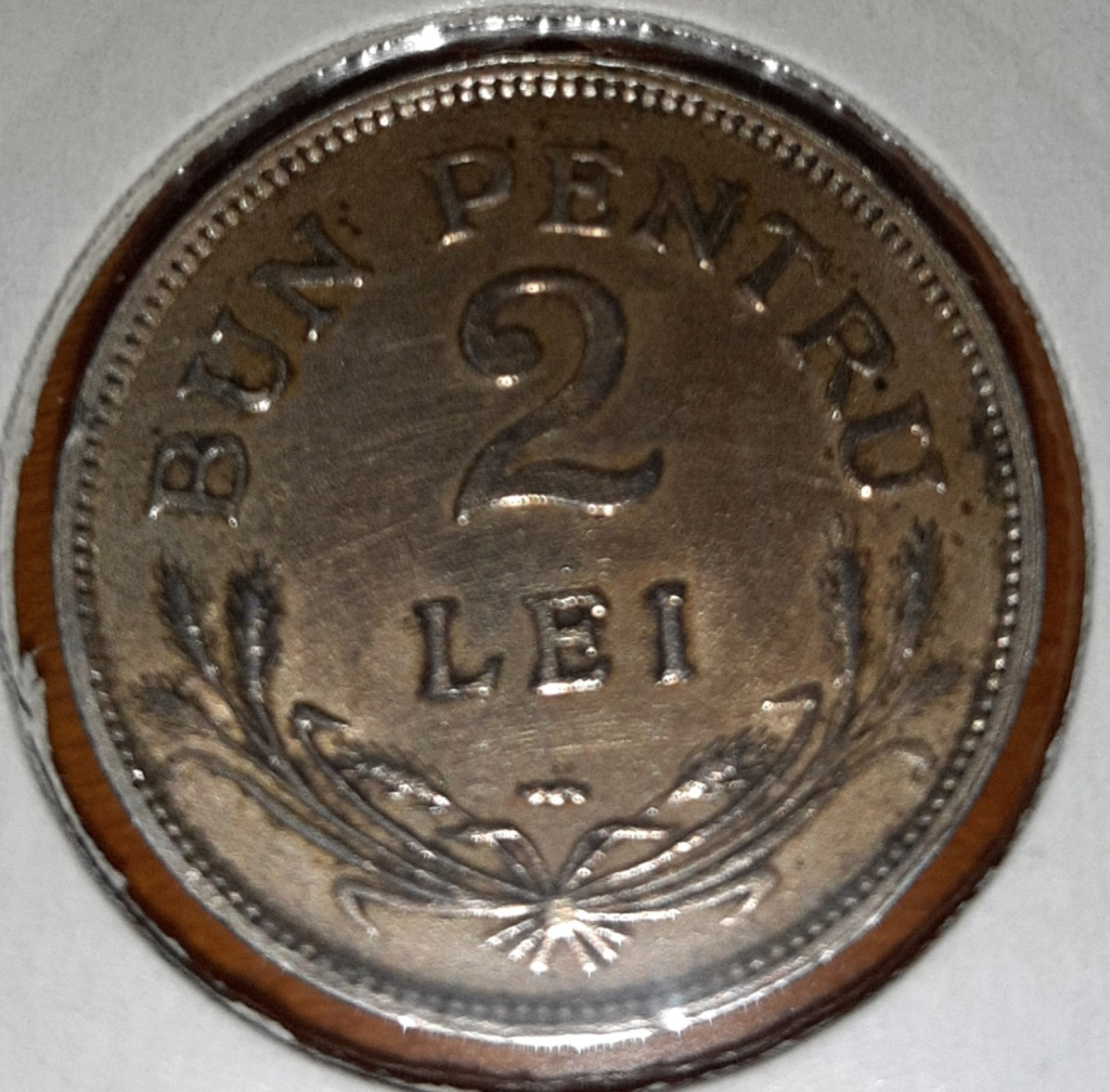 Rumania 2 lei 1924. Ferdinand I. 20190846