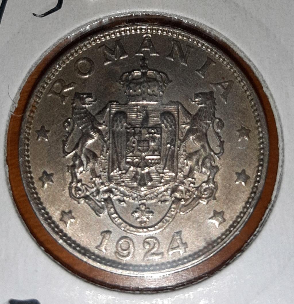 Rumania 2 lei 1924. Ferdinand I. 20190847
