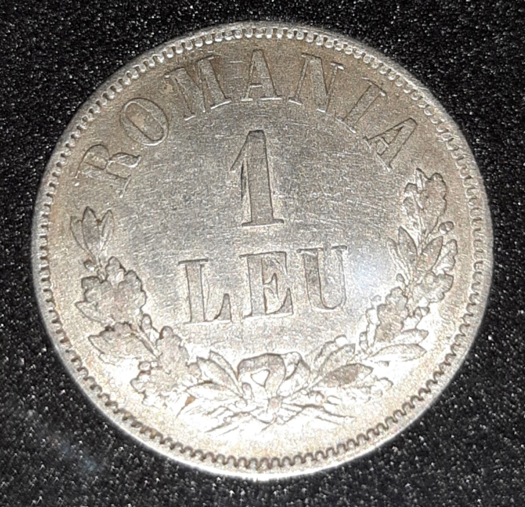 Rumanía - 1 Leu 1873 -Carol I 20190849