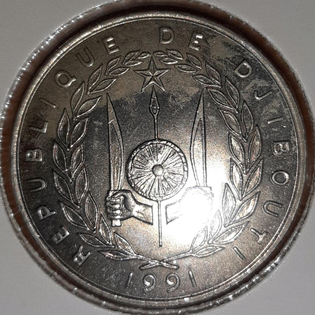 Africa- República de Djibouti 100 Francos 1991. 20190852