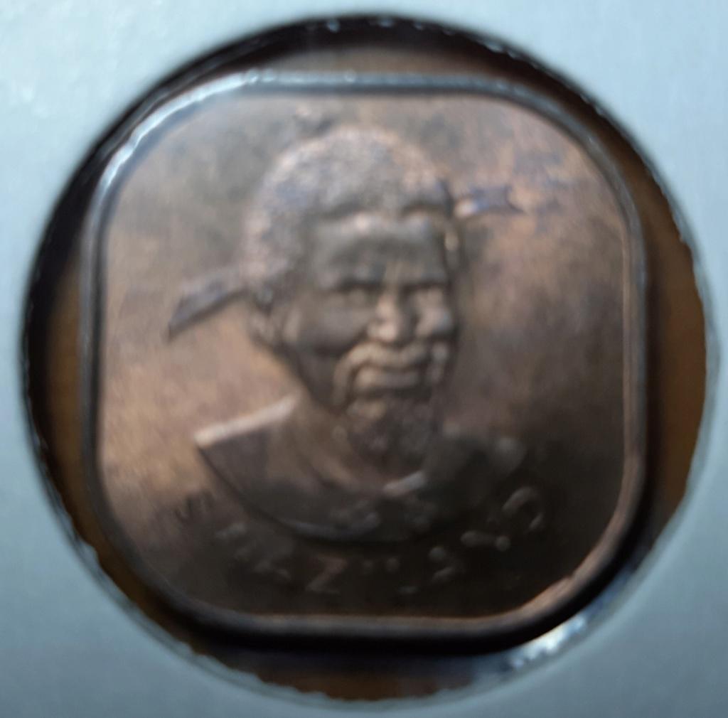 Africa- Reino de Suazilandia 2 cents -SobhuzaII 20190860