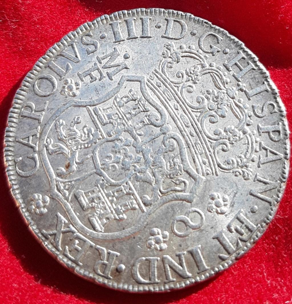 Columnario de 8 reales de 1768, México 20190870