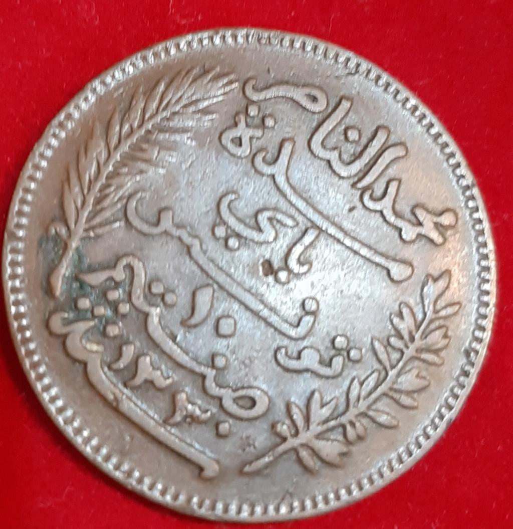 10 centimes 1912 Tunez. Muhammad V 20190873