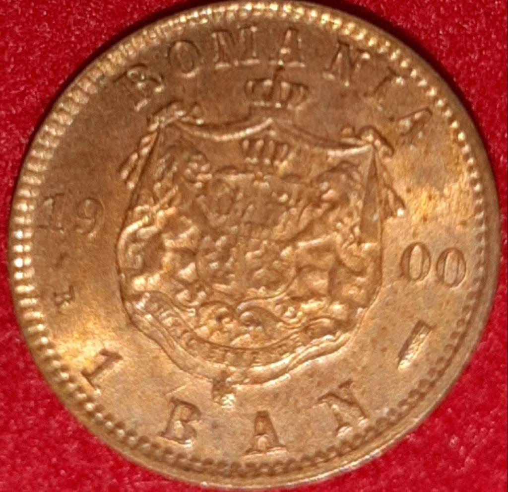 1 BAN  Rumanía Carol I - 1900 - pequeña maravilla 15 mm de bronze. 20190874