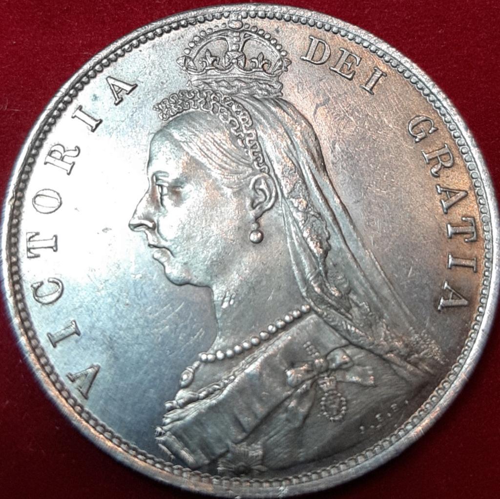 1 shilling (Chelin) -Victoria 2º retrato - 1887 20190914