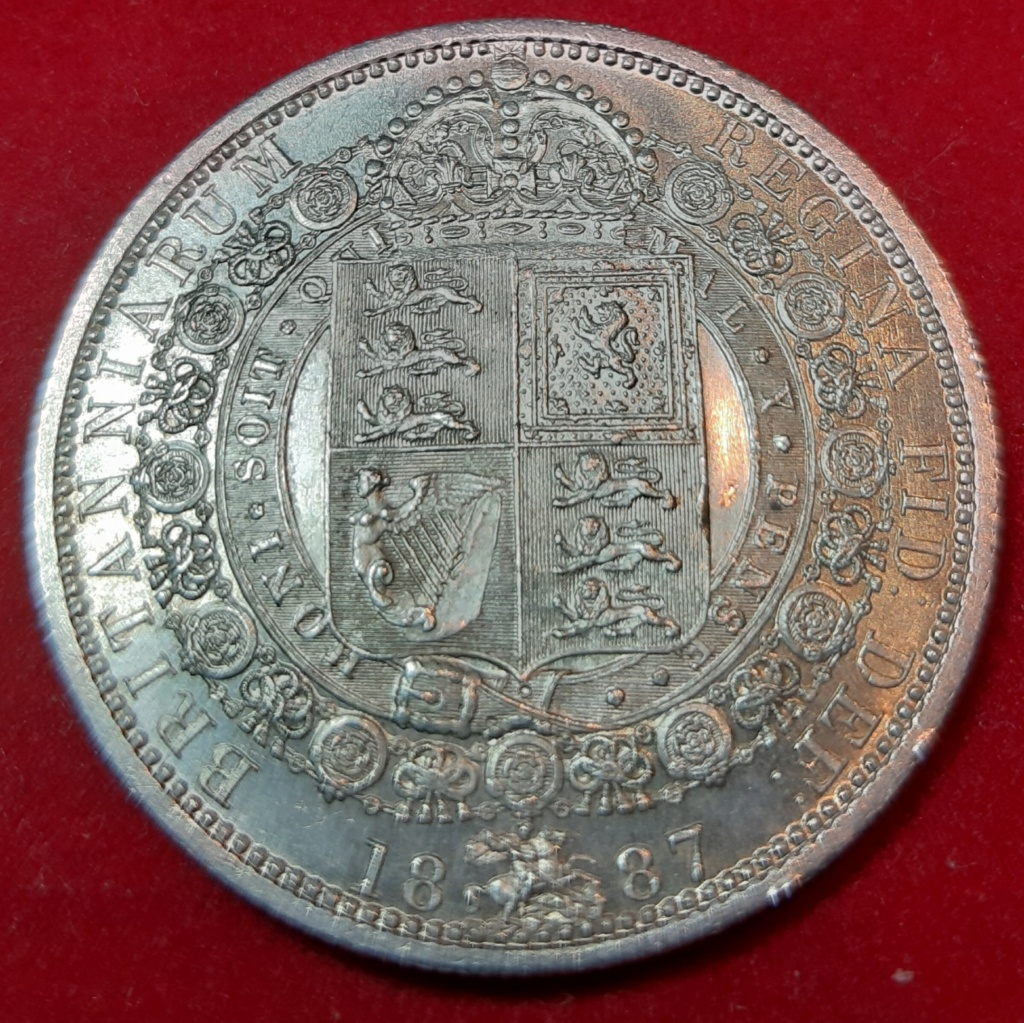 1 shilling (Chelin) -Victoria 2º retrato - 1887 20190915