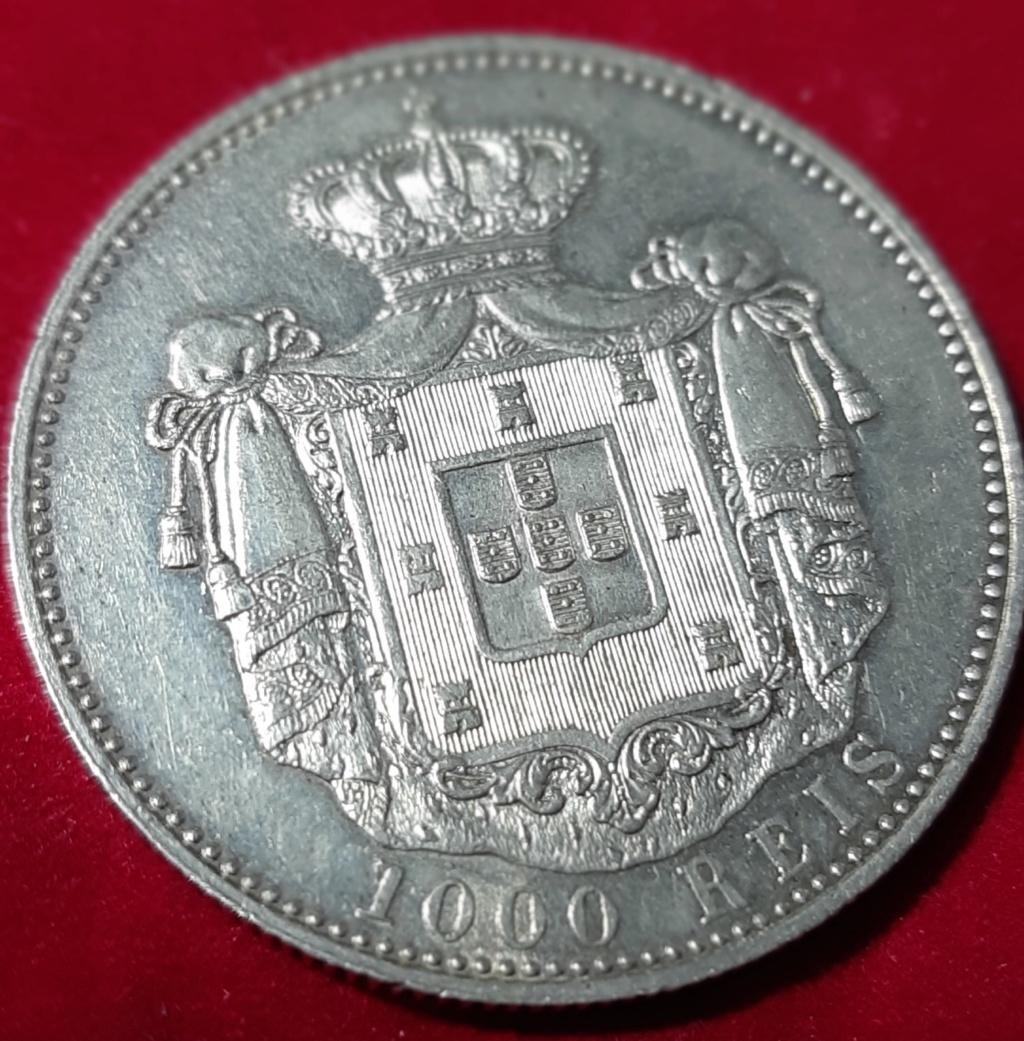 Gobierno provisional- 1000 REIS 1899- CARLOS I- Portugal 20190920
