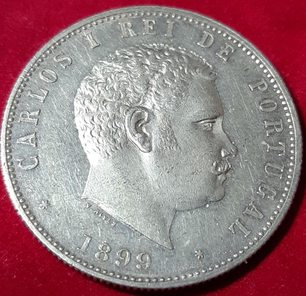 Gobierno provisional- 1000 REIS 1899- CARLOS I- Portugal 20190921