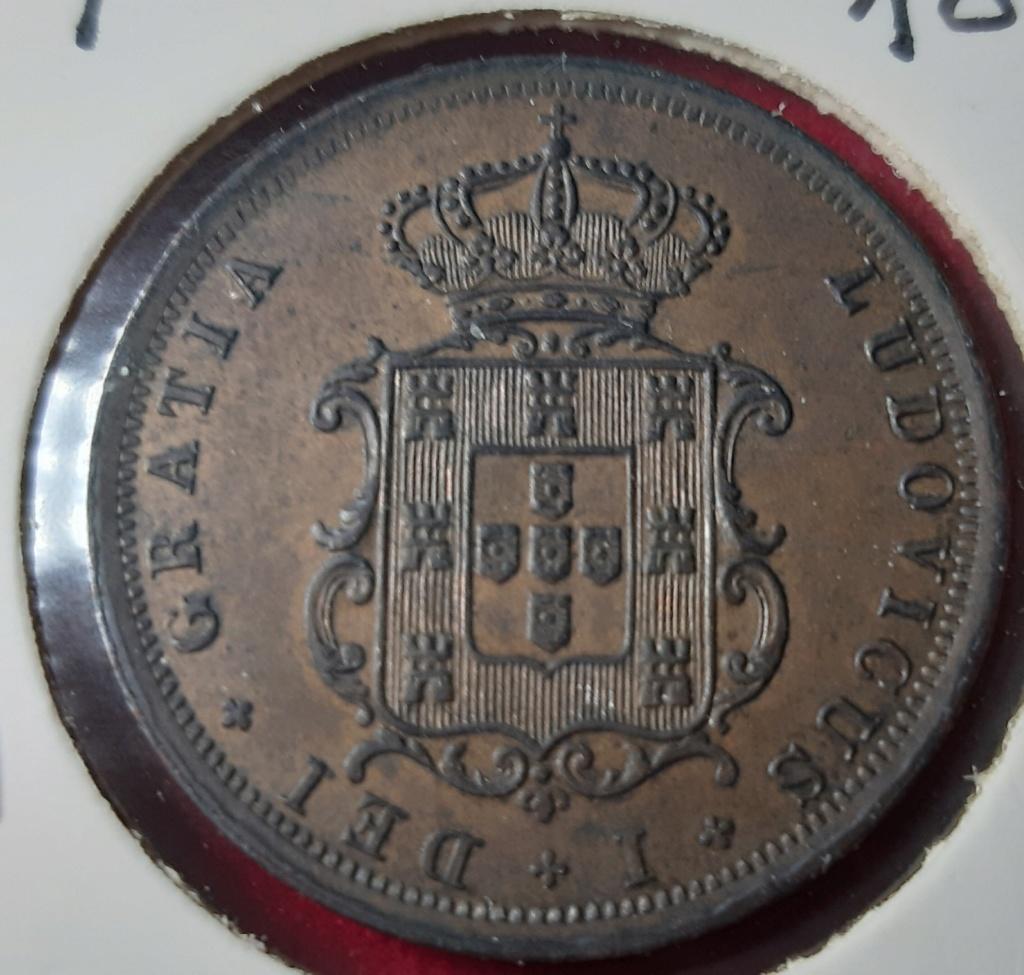V Réis -1875 Luíz I - Portugal. 20190922