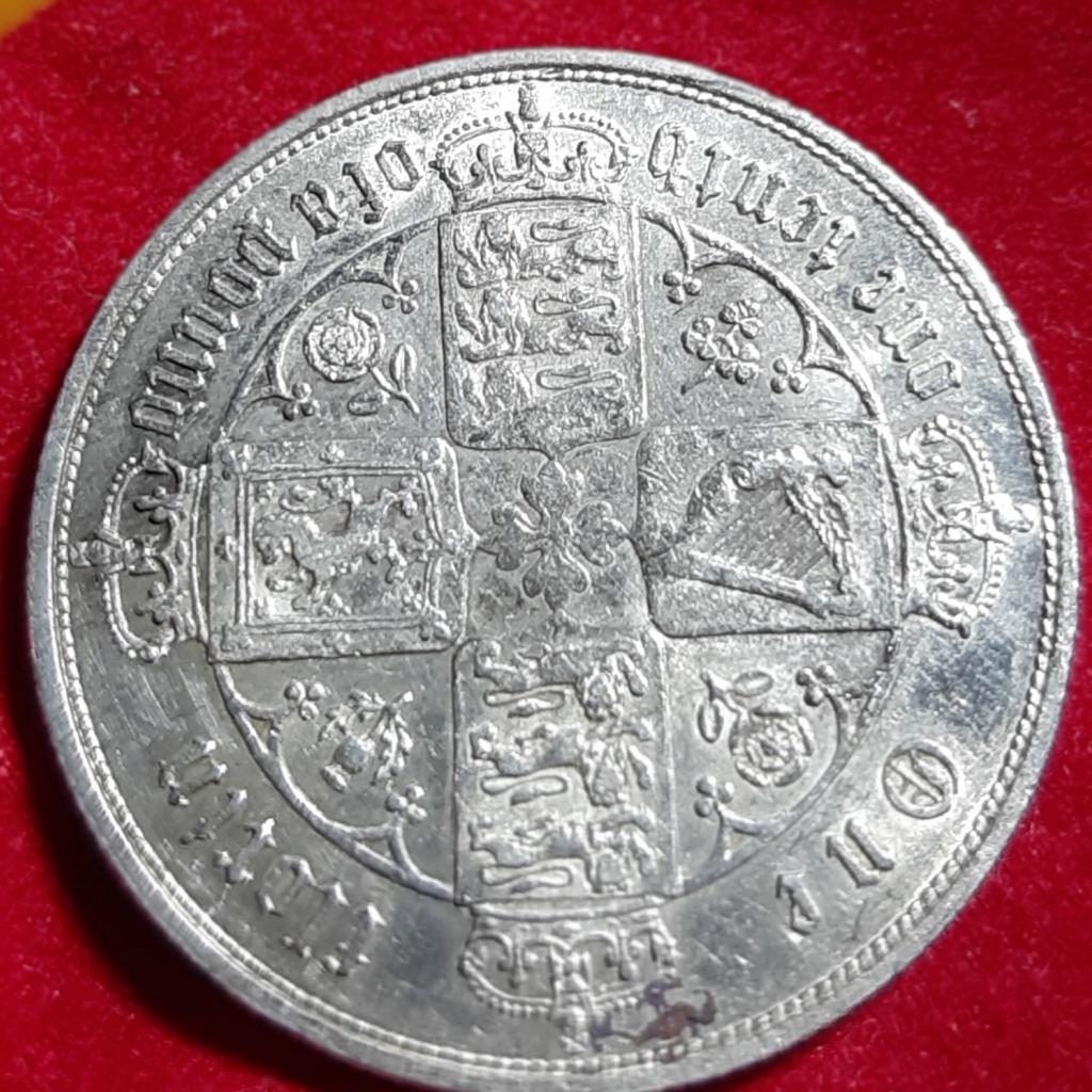 Florín Góthico . Inglaterra. Victoria 1867 20190931