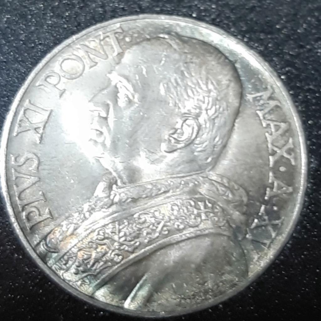 VATICANO...PIO XI 10 LIRAS 1936. 20190940