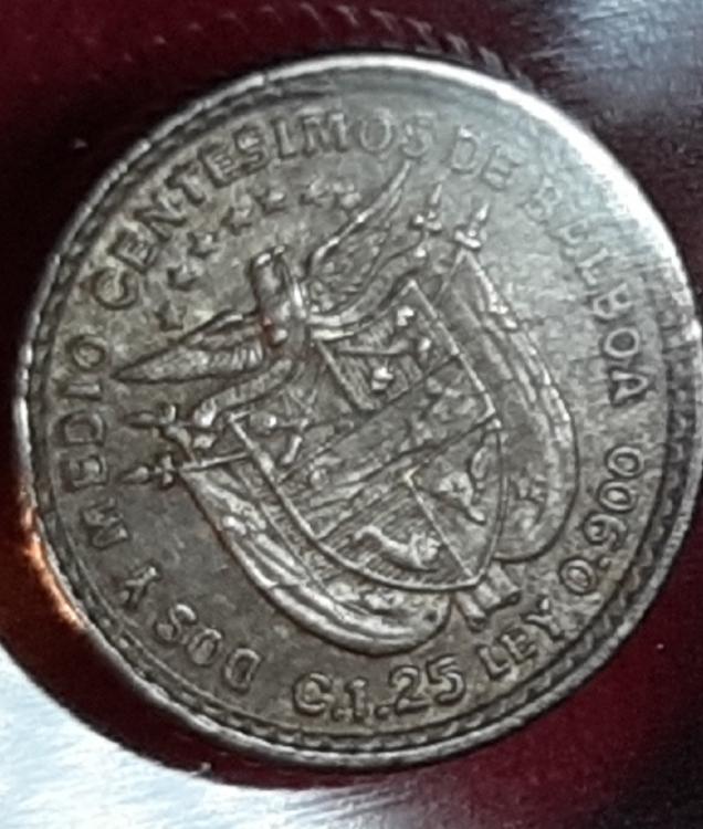 Pánama 2 1/2 centésimos balboa 1904 - Quizás la moneda más pequeña del mundo. 20190942