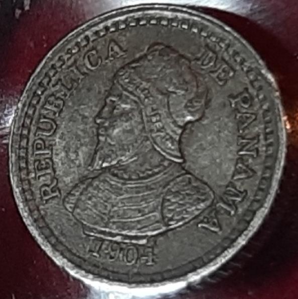 Pánama 2 1/2 centésimos balboa 1904 - Quizás la moneda más pequeña del mundo. 20190943