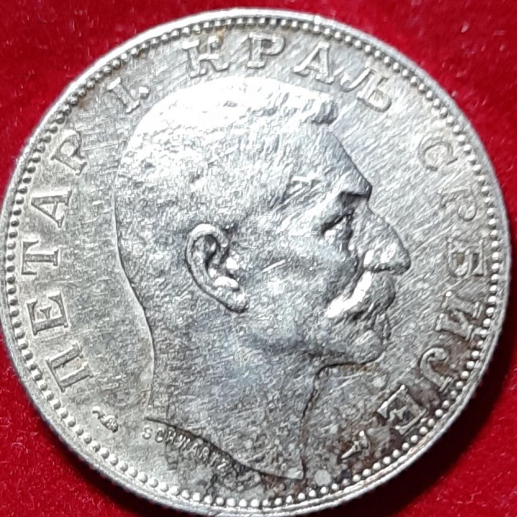 Reino de Serbia 2 dinares 1915 Petar I para Tirant Lo Blanch 20190950