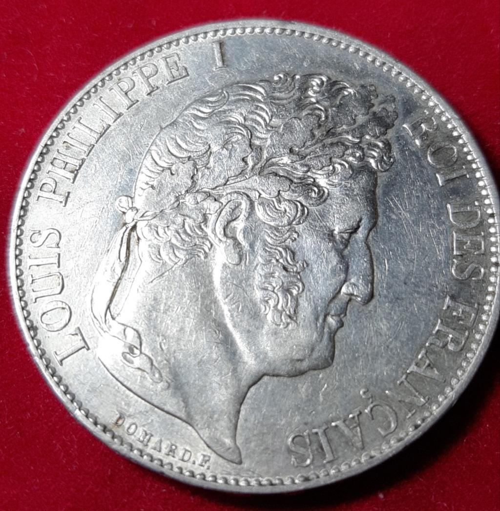 5 Francos 1847 A - LOUIS PHILIPPE I - FRANCIA 20190954