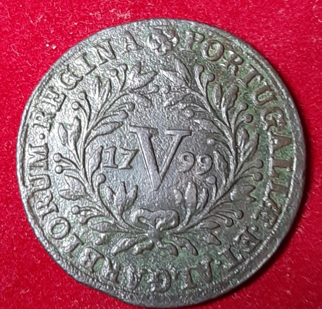 1799 - 5 REIS - MARIA I - Portugal. Cobre. 20190961