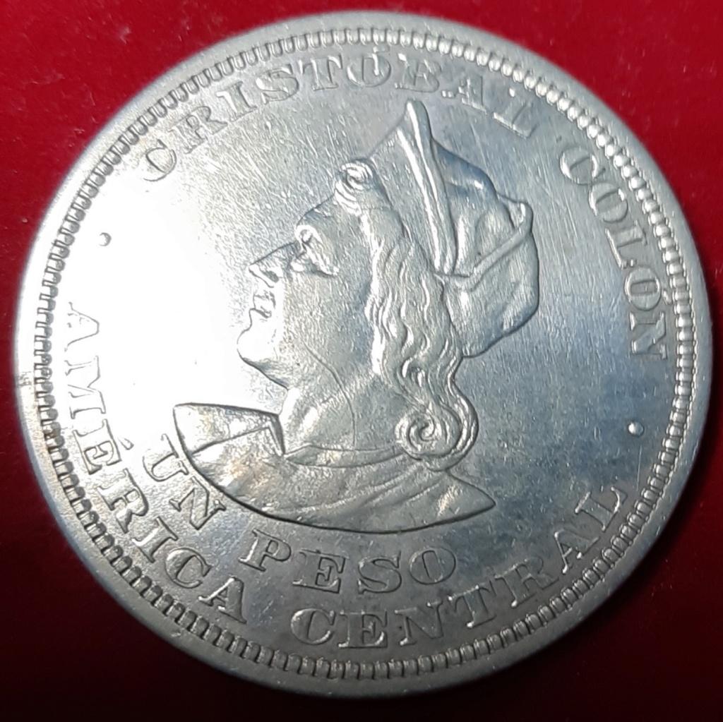 UN PESO 1911- REPÚBLICA DE SALVADOR- 20190964