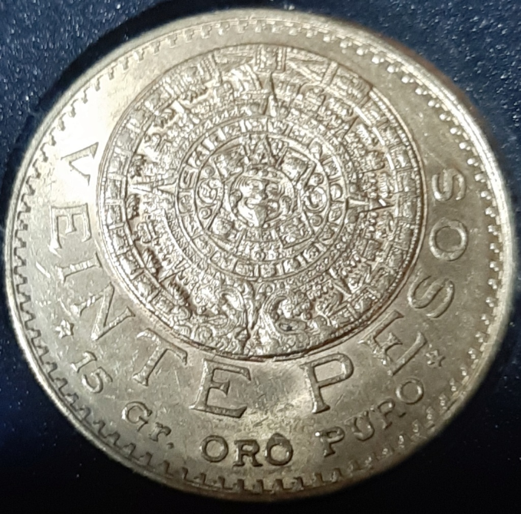 20 PESOS ORO 1918 MEXICO - NO RESTRIKE-NO REACUÑACIÓN. 20190973