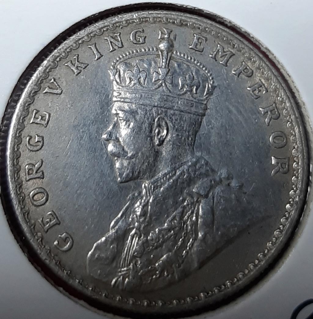India Británica. 1 Rupia 1917 Bombay 20191033