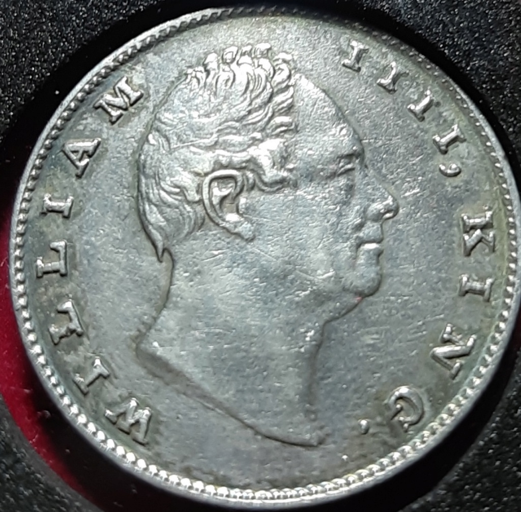 1 RUPEE 1835 - WILLIAM IV -INDIA BRITISH - CALCUTA 20191040