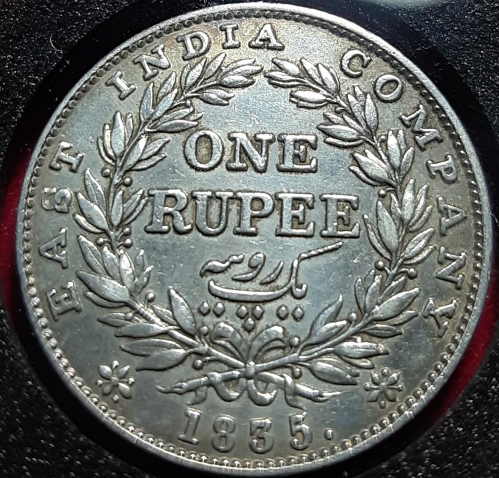 1 RUPEE 1835 - WILLIAM IV -INDIA BRITISH - CALCUTA 20191041