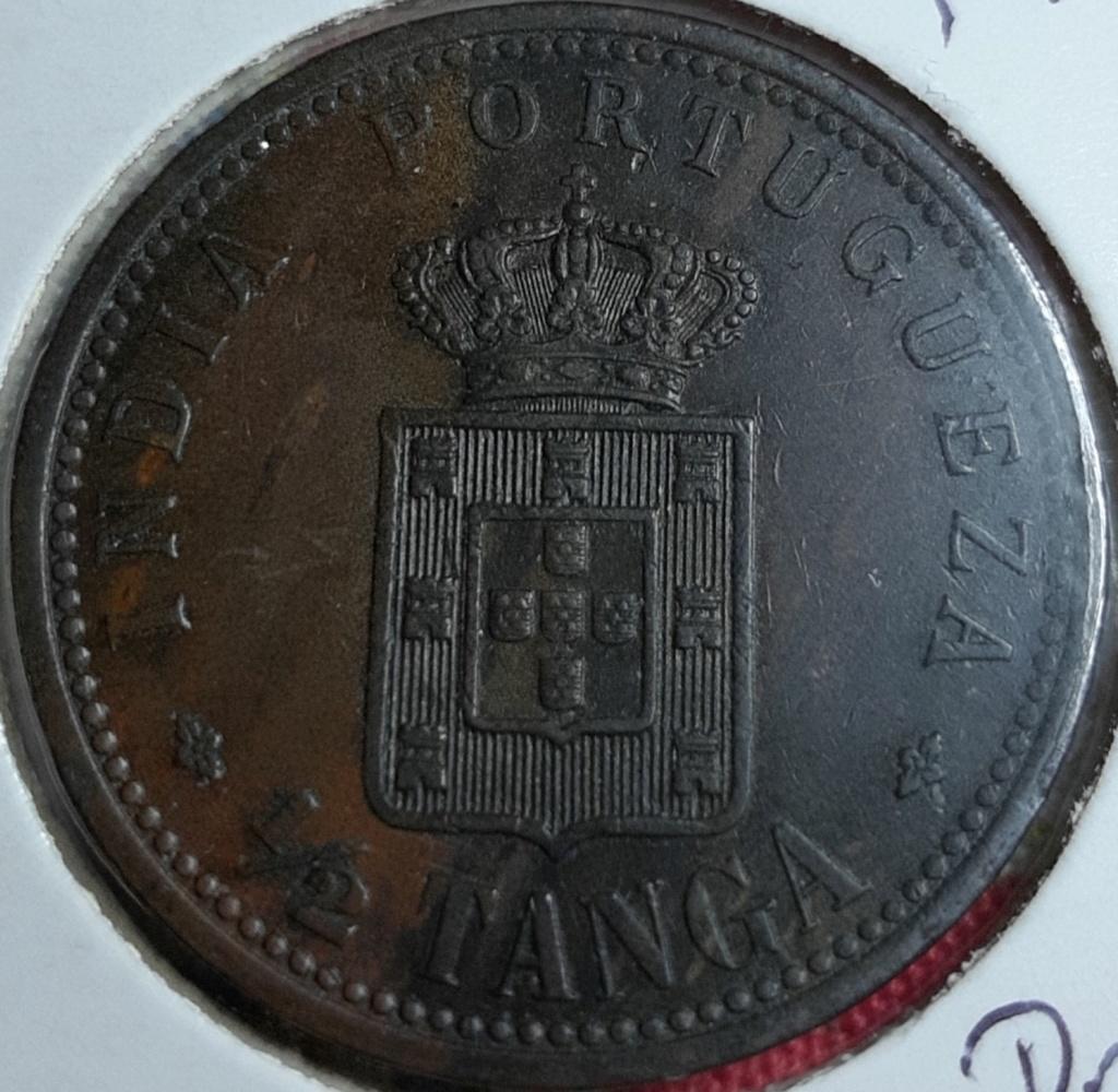 INDIA PORTUGUESA 1/2 TANGA 1901 20191045