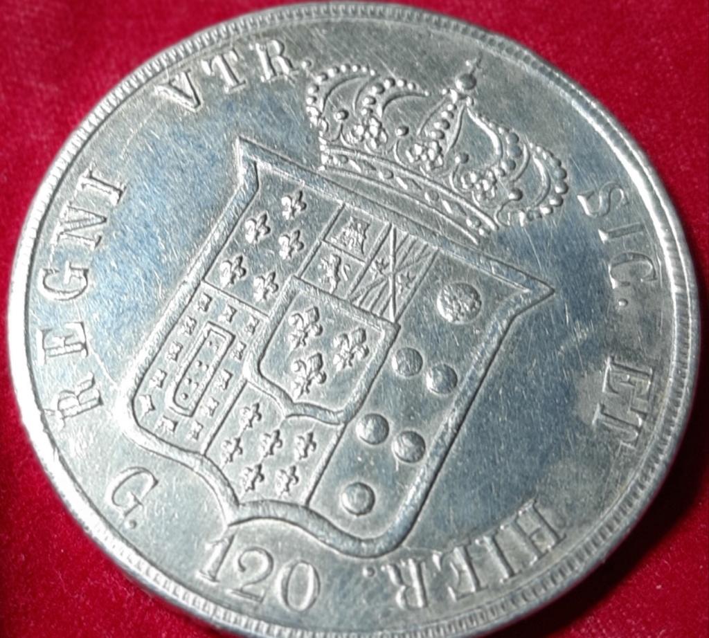 120 GRANA 1856 . DOS SICILIAS -FERDINAND II 20191051
