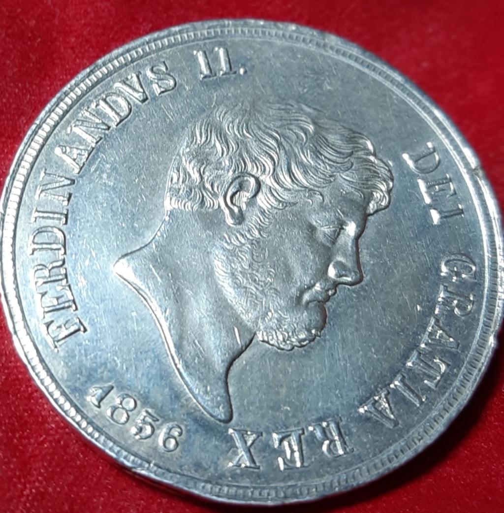 120 GRANA 1856 . DOS SICILIAS -FERDINAND II 20191052