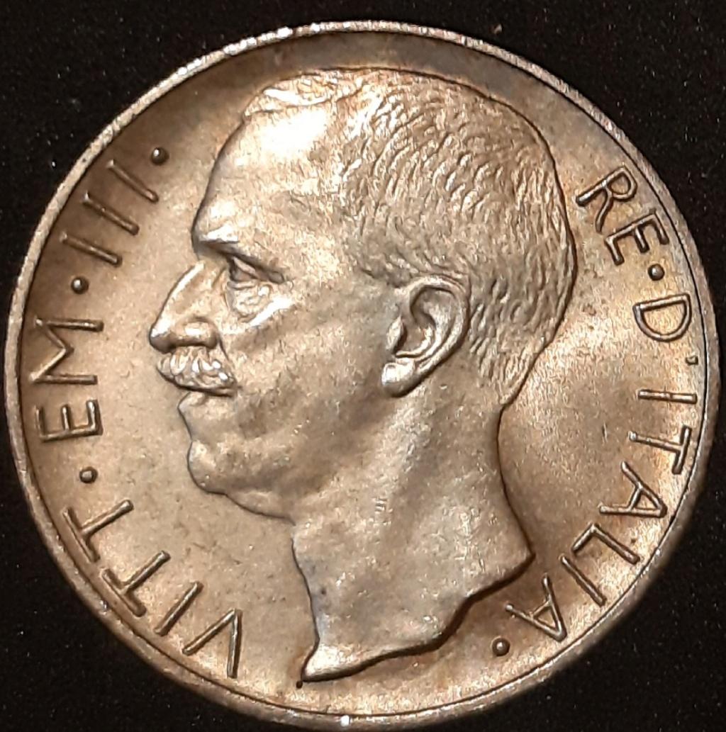 10 liras 1927 . Italia. Victor Manuel III de Saboya. 20210321