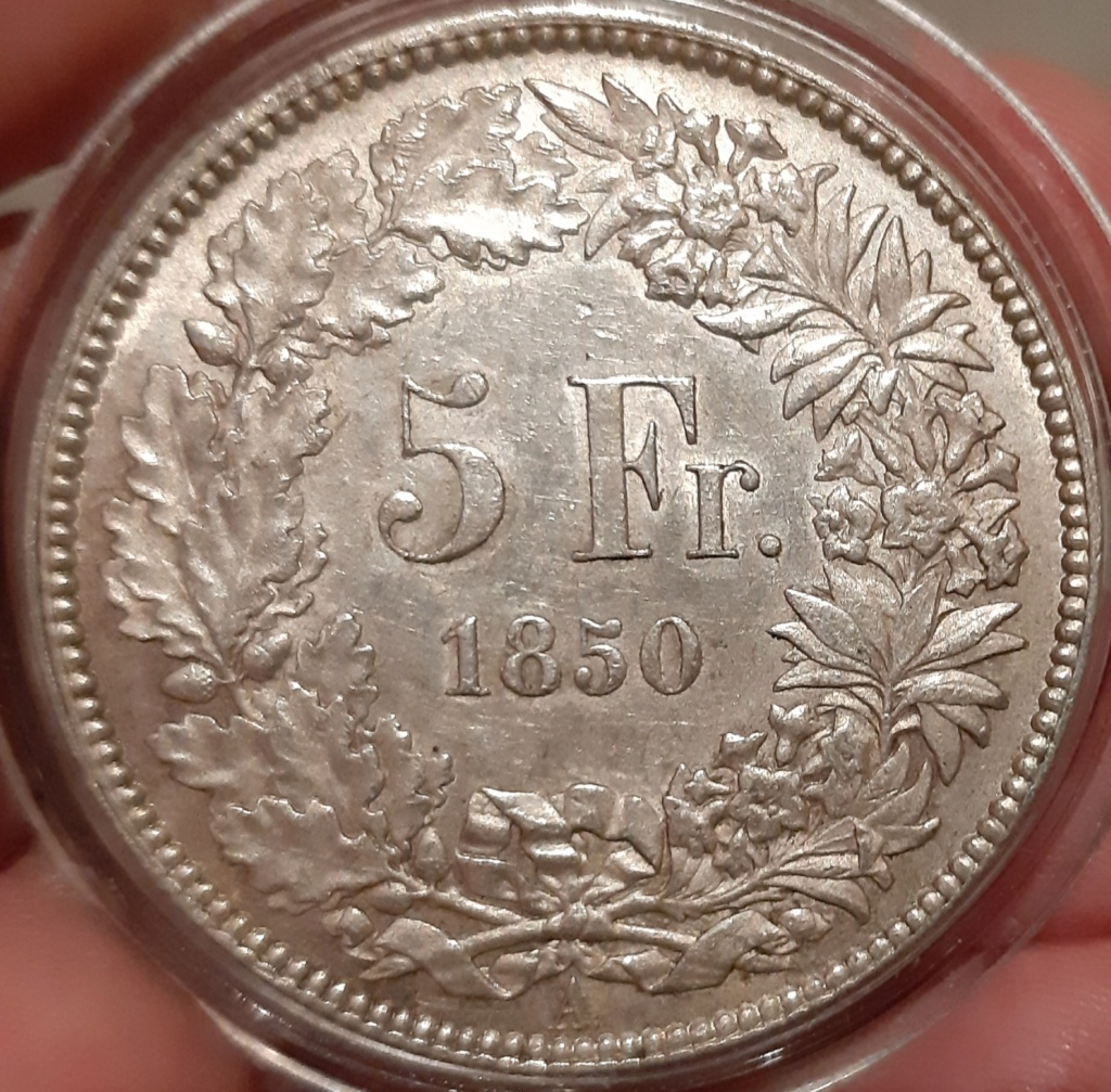 5 Francos - Suiza, 1850 A - Dedicada a Natxos7 - Página 2 20210345