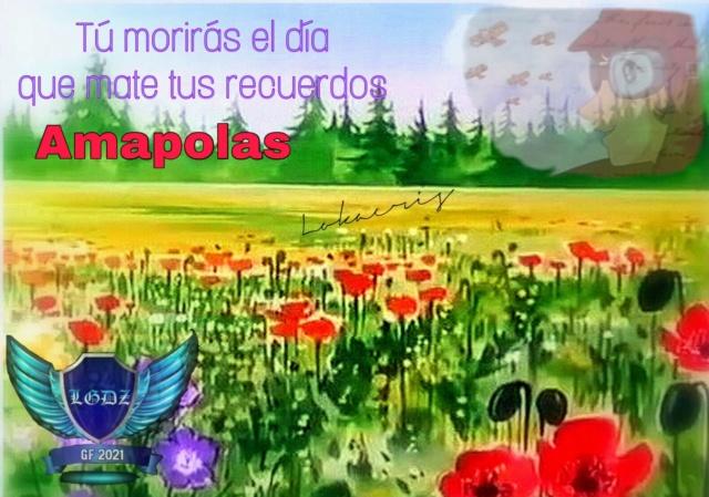 """⚔⚔⚔ DESDE LAS TRINCHERAS DE LAS LEGENDARIAS GUERRERAS DEL ZAFIRO⚔⚔⚔ RESPONDIENDO AL RETO DE CHERRY CHADDAR  """"AMAPOLA""""⚔⚔⚔ 17941311"""