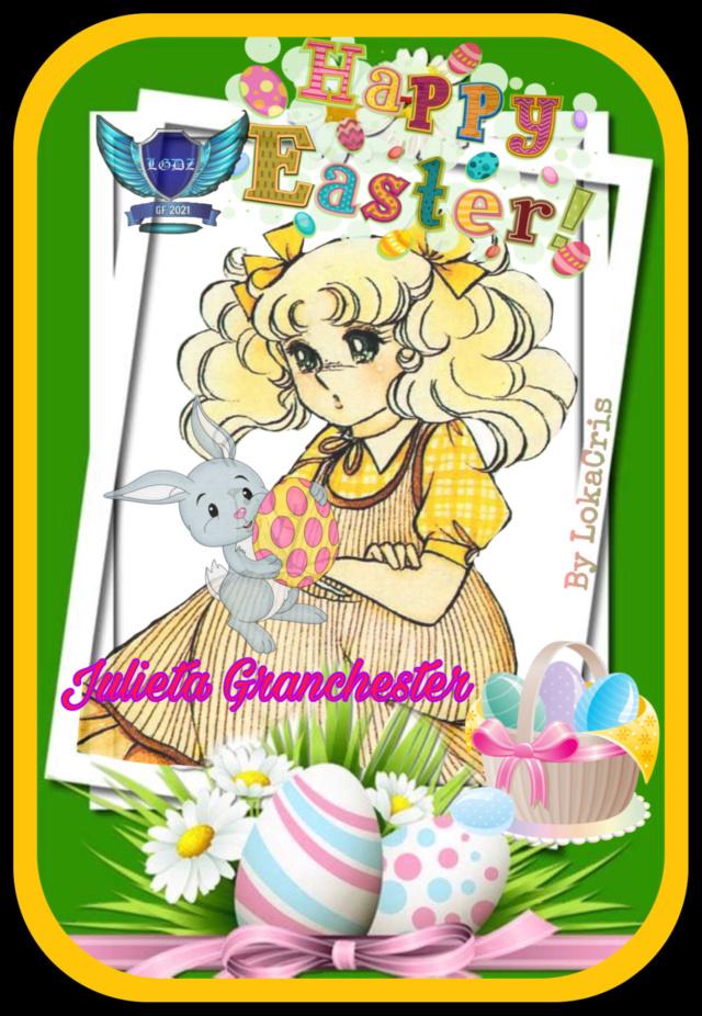 """****Legendarias Guerreras Del Zafiro ***"""" Cerrando y entregando  firmitas de pascua Candy """"**** B04a2410"""