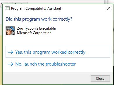 Zoo Tycoon 2 troubleshoot Problem please help. Vv10