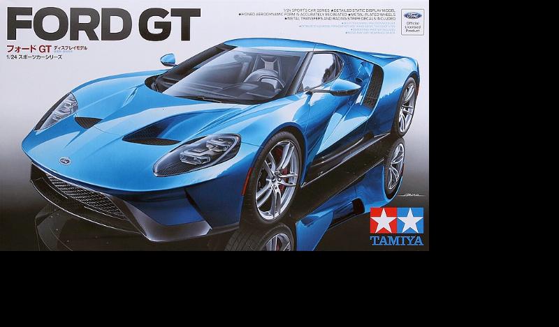 2017er Ford GT / Tamiya, 1:24 D2a09310