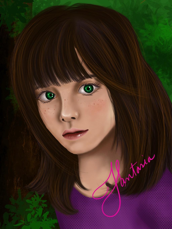 Divinas Misticas de Terry - Fant Art la hija de Candy -Ellie Ann-  y Terry por Las Divinas ❤️❤️❤️ B00f6a10