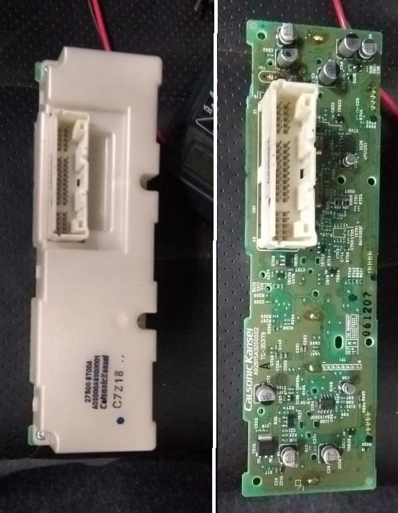AC Unit Control - Placa de controle ar condicionado Sentra B16 queimando fusíveis e circuito eletrônico 111