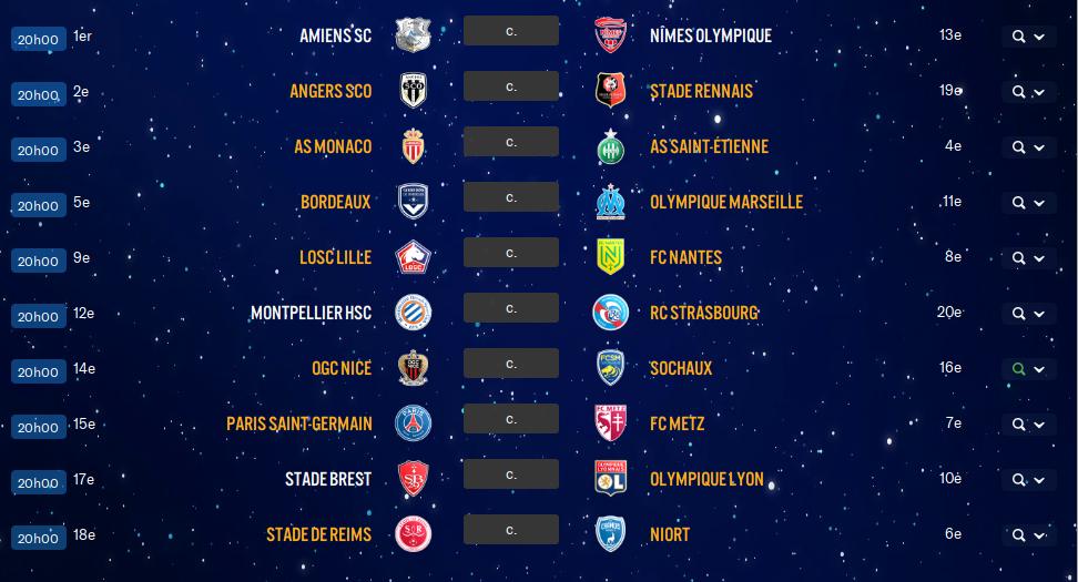13ème Journée de Ligue 1 avant ?? 3gj910
