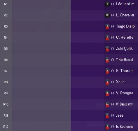 Premier matchs amicaux  16 Juillet  avant Mardi 12h Captu396