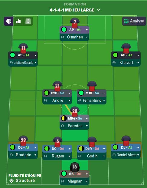 Premier matchs amicaux  16 Juillet  avant Mardi 12h Captu397