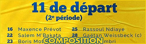 18ème Journée avant Samedi 12h Compo114