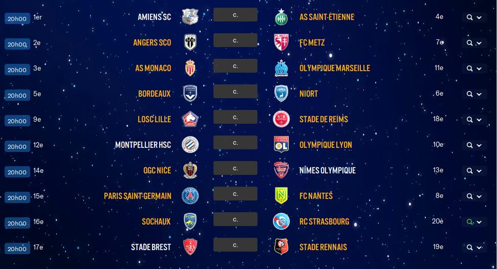 15ème Journée de Ligue 1 avant ?? Otxe10