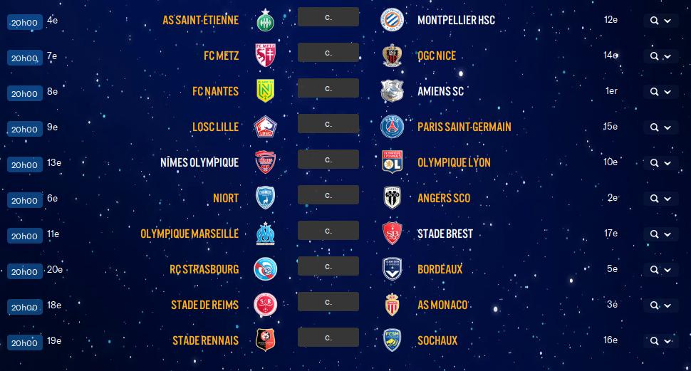 18ème Journée de Ligue 1 avant ?? Ph0z10