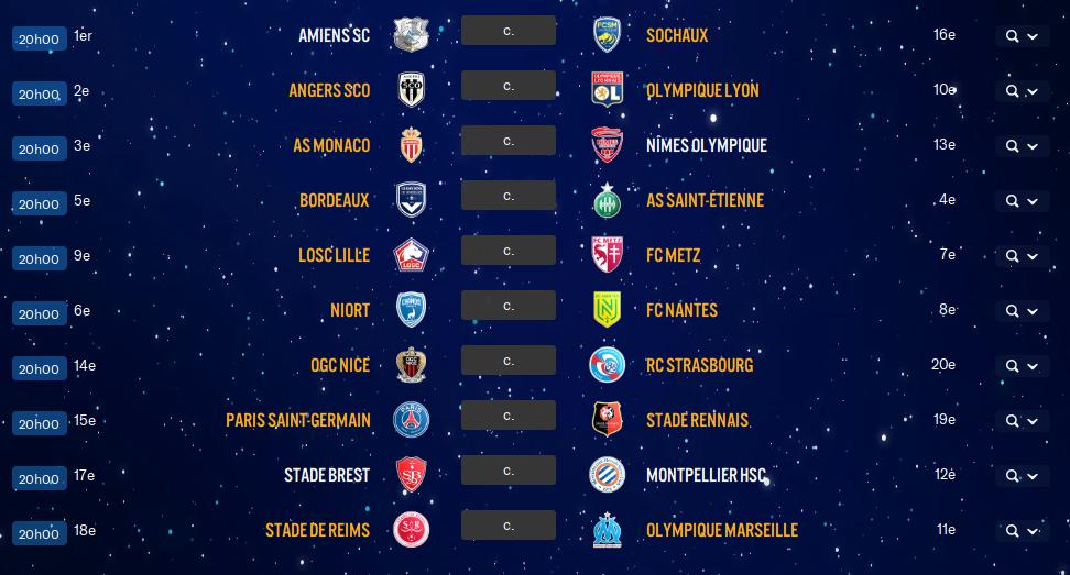 11ème Journée de Ligue 1 avant ??   Wnsw10