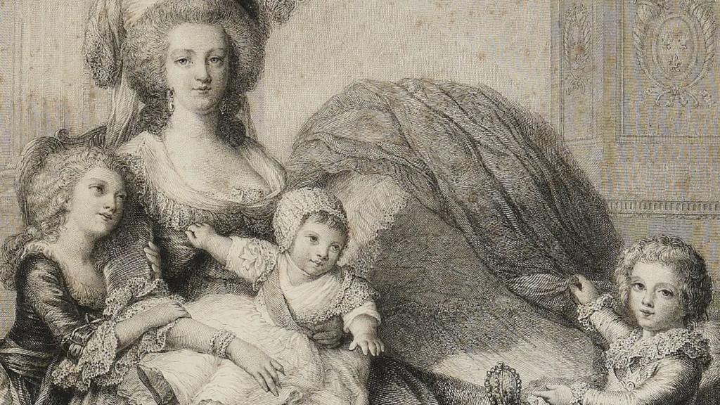 Portrait Marie Antoinette et ses enfants par Elisabeth Louise Vigée Lebrun - Page 2 Zzzz410