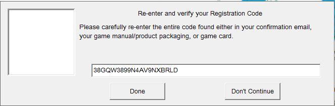 Re-enter or verify registration code - sims 3. Sims3e10