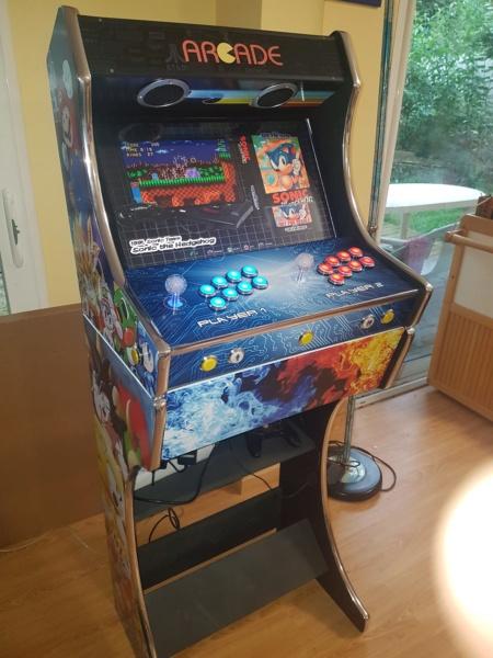 [WIP] 90% Borne Arcade - Kit PM88 20190510