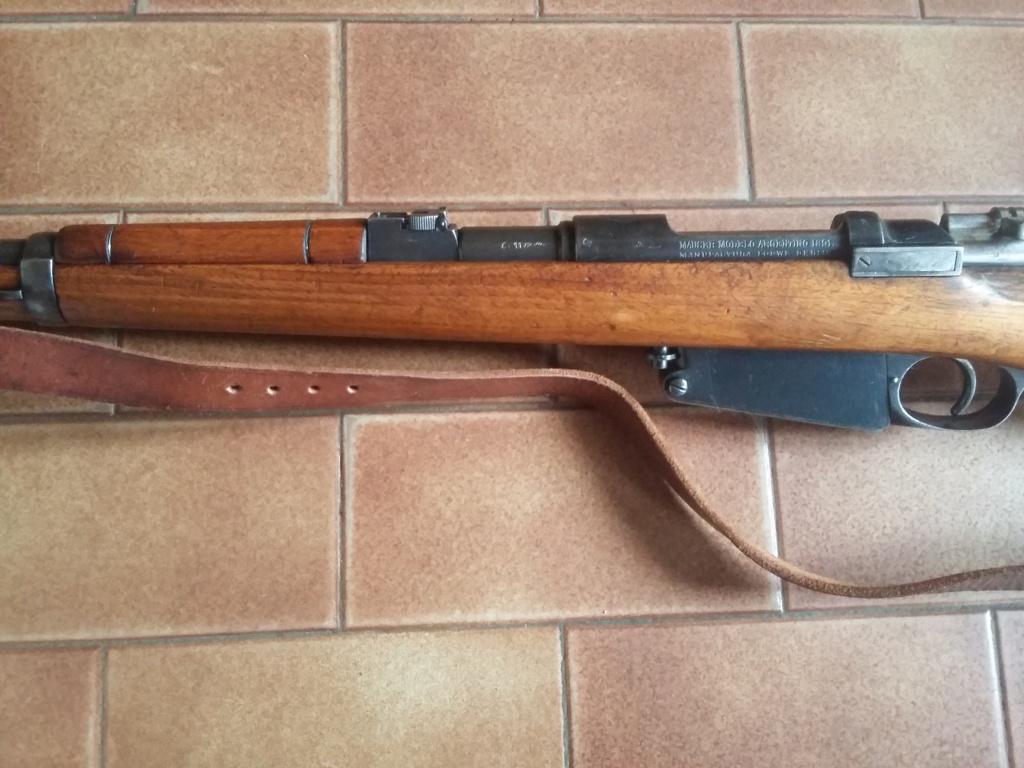 carabine mauser M91 91m110