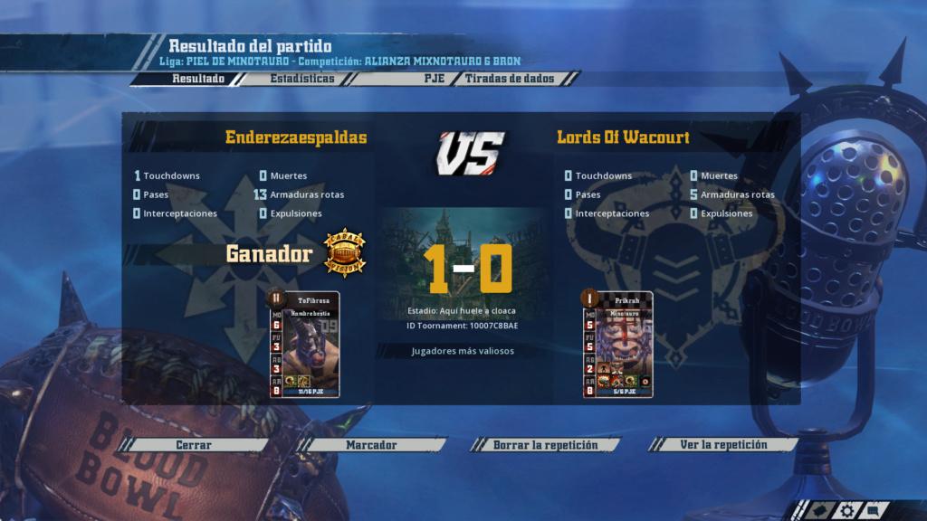Liga Alianza Mixnotauro 6 - División Cuerno de Bronce / Jornada 2 - hasta el domingo 5 de julio 23-06-10